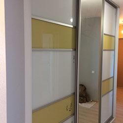 Встроенный шкаф-купе № 0496