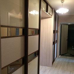Встроенный шкаф-купе № 0499