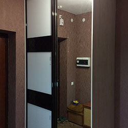 Встроенный шкаф-купе № 0501