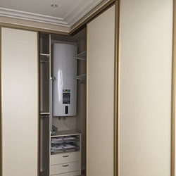 Встроенный шкаф-купе № 0055