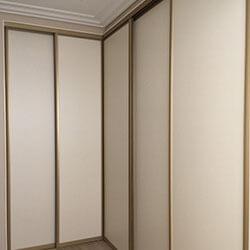 Встроенный шкаф-купе № 0056