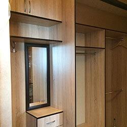 Встроенный шкаф-купе № 0511