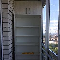 Встроенный шкаф-купе № 0513