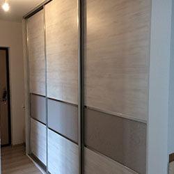 Встроенный шкаф-купе № 0520