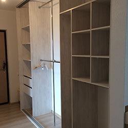 Встроенный шкаф-купе № 0521