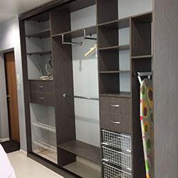 Встроенный шкаф-купе № 0523