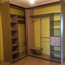 Встроенный шкаф-купе № 0525