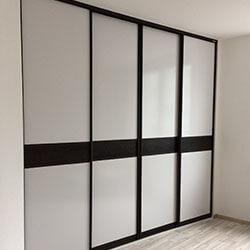 Встроенный шкаф-купе № 0526