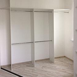 Встроенный шкаф-купе № 0529
