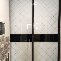 Встроенный шкаф-купе № 0059