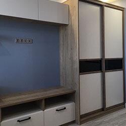 Встроенный шкаф-купе № 0061