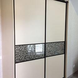 Встроенный шкаф-купе № 0532