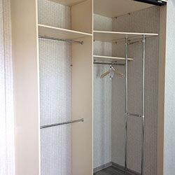 Встроенный шкаф-купе № 0533