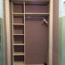 Встроенный шкаф-купе № 0535