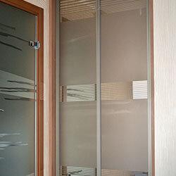 Встроенный шкаф-купе № 0063