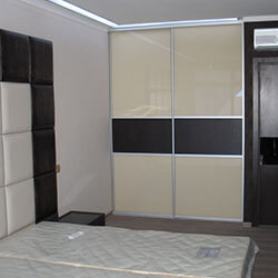 Встроенный шкаф-купе № 0542