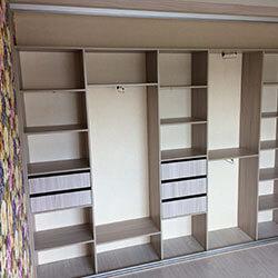 Встроенный шкаф-купе № 0544