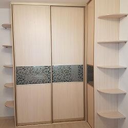 Встроенный шкаф-купе № 0547