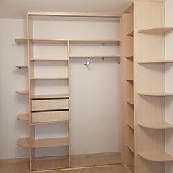 Встроенный шкаф-купе № 0548