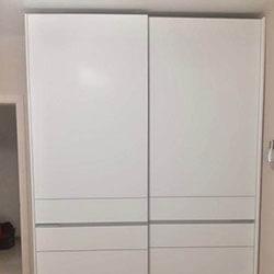 Встроенный шкаф-купе № 0064