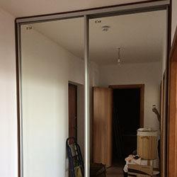 Встроенный шкаф-купе № 0551