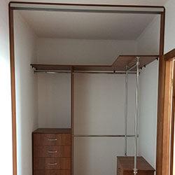 Встроенный шкаф-купе № 0552