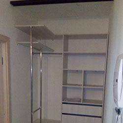 Встроенный шкаф-купе № 0554