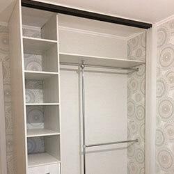 Встроенный шкаф-купе № 0556