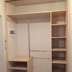 Встроенный шкаф-купе № 0558