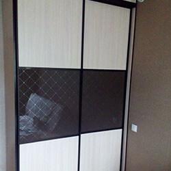 Встроенный шкаф-купе № 0559