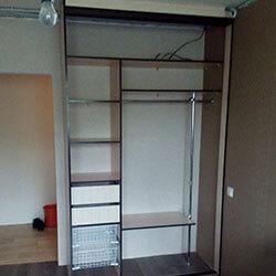 Встроенный шкаф-купе № 0560