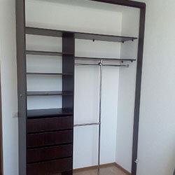 Встроенный шкаф-купе № 0562