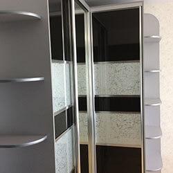 Встроенный шкаф-купе № 0563