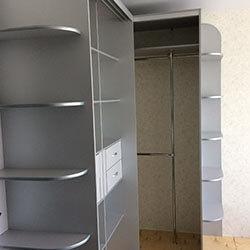Встроенный шкаф-купе № 0564