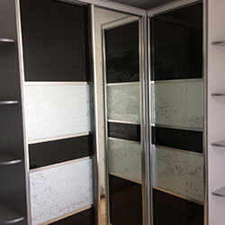 Встроенный шкаф-купе № 0565