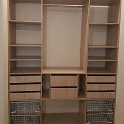 Встроенный шкаф-купе № 0568