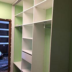 Встроенный шкаф-купе № 0582