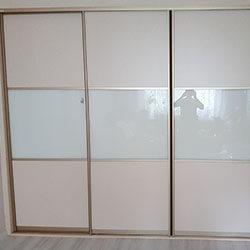 Встроенный шкаф-купе № 0587