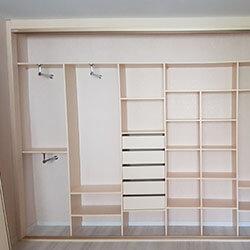Встроенный шкаф-купе № 0588