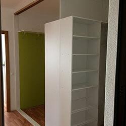 Встроенный шкаф-купе № 0592