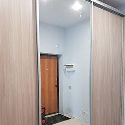 Встроенный шкаф-купе № 0596