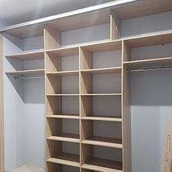Встроенный шкаф-купе № 0597