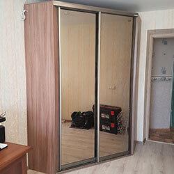 Встроенный шкаф-купе № 0598