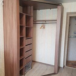 Встроенный шкаф-купе № 0599