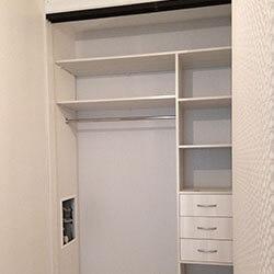 Встроенный шкаф-купе № 0602