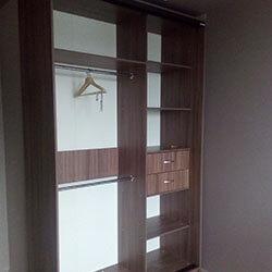 Встроенный шкаф-купе № 0605