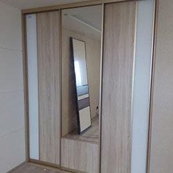 Встроенный шкаф-купе № 0606