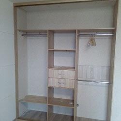 Встроенный шкаф-купе № 0609
