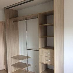 Встроенный шкаф-купе № 0613