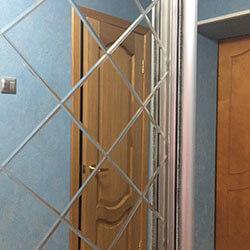 Встроенный шкаф-купе № 0614